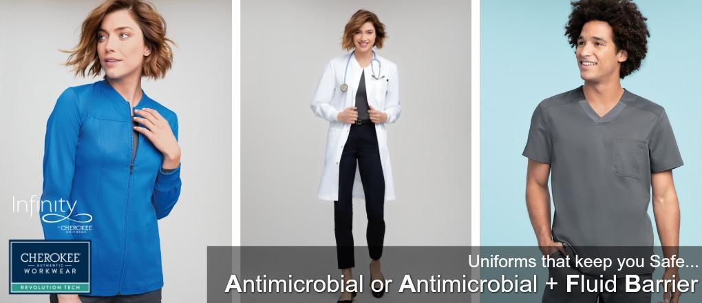 ad6f2fe17af {Antimicrobial + Fluid Barrier} Intelligent Protection!